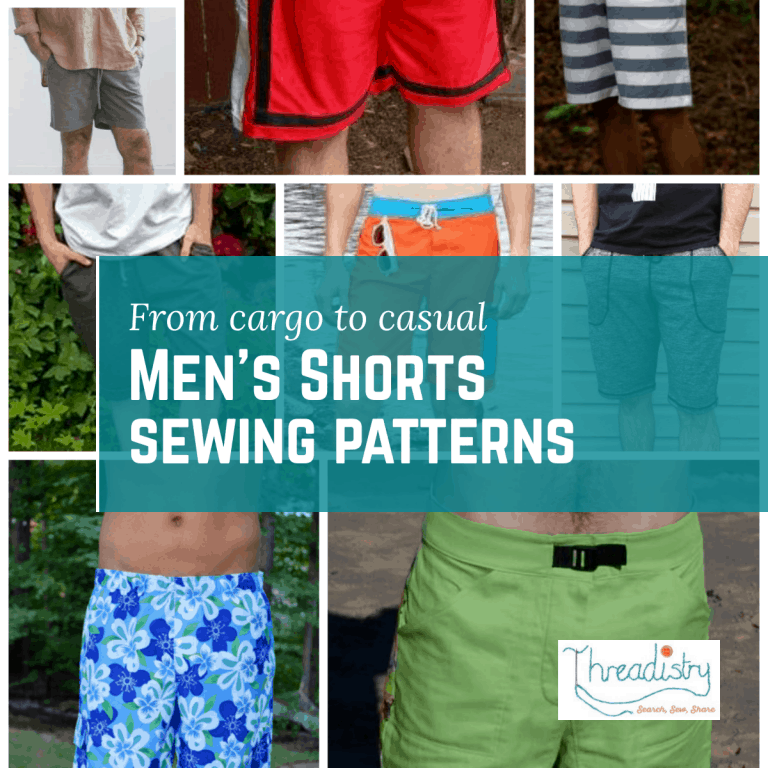 Men's shorts sewing patterns   Sewing for Men