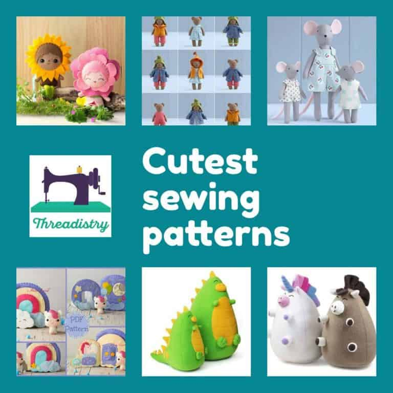 Cute Sewing Patterns to make you smile
