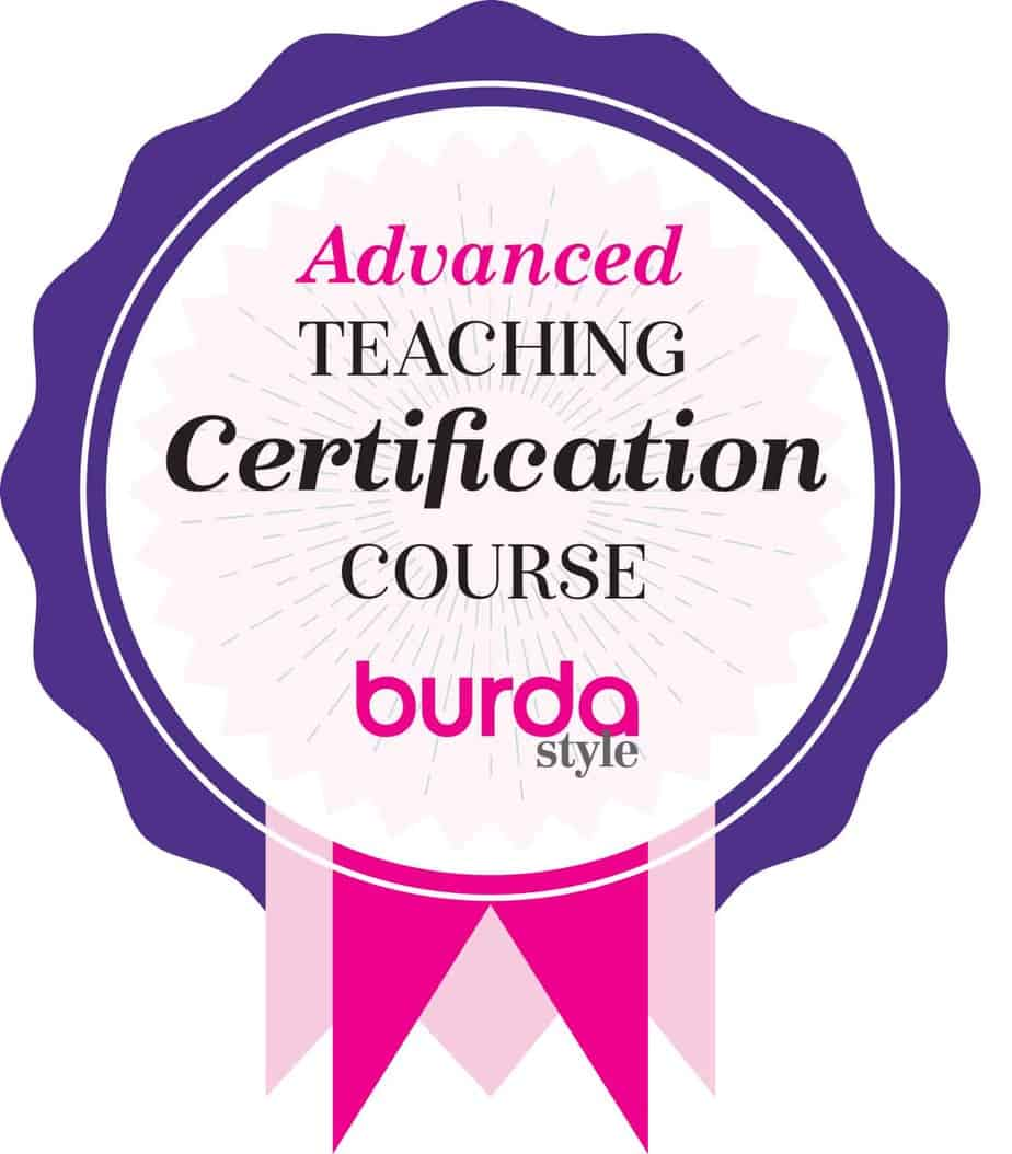 Advanced Teaching Certificate from BurdaStyle