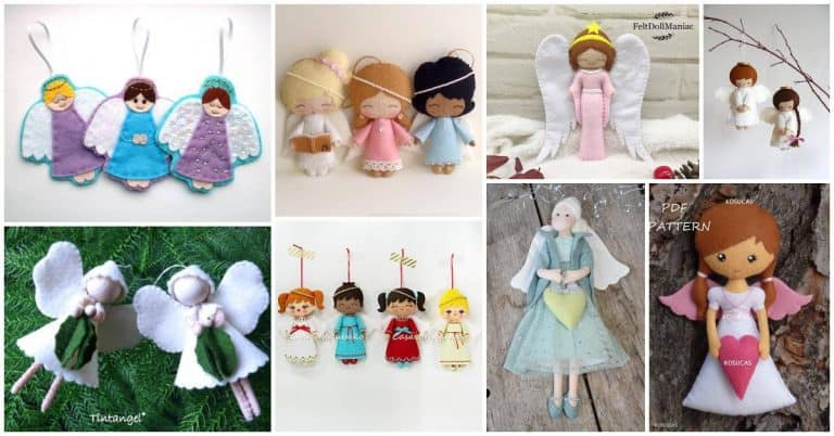 Sweetest Christmas Angel sewing patterns